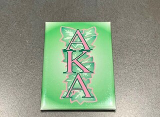 New Super Savings - Alpha Kappa Alpha Mirror - GREEN 1 of 3