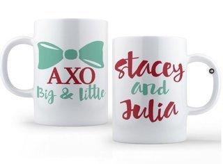 Alpha Chi Omega Big & Little Coffee Mug