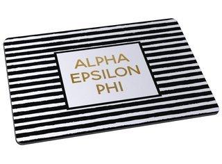 Alpha Epsilon Phi Striped Mousepad
