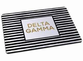 Delta Gamma Striped Mousepads