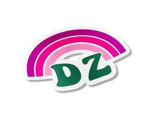 Delta Zeta Rainbow Decals