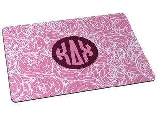 Kappa Delta Chi Floral Mousepad