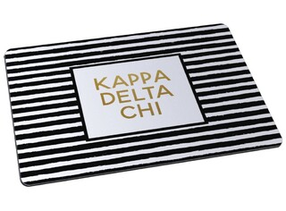 Kappa Delta Chi Striped Mousepad