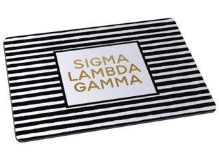 Sigma Lambda Gamma Striped Mousepads