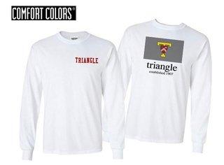 Triangle Flag Long Sleeve T-shirt - Comfort Colors