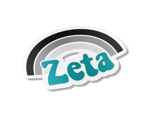 Zeta Tau Alpha Rainbow Decals