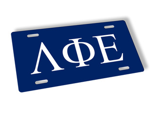 Lambda Phi Epsilon Lettered License Cover