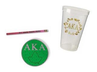 Alpha Kappa Alpha Sorority Mascot Set $8.99