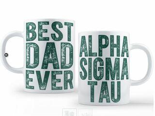 Alpha Sigma Tau Best Dad Ever Coffee Mug