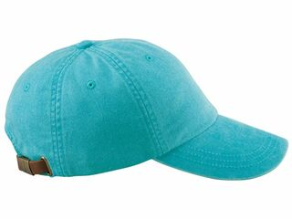 6-Panel Low-Profile Washed Pigment-Dyed Cap - BLANK