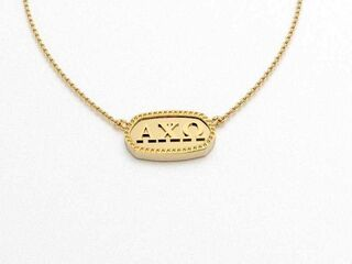 Alpha Chi Omega Athena Necklace