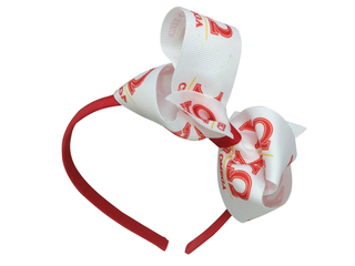 Alpha Chi Omega Headband with Bow
