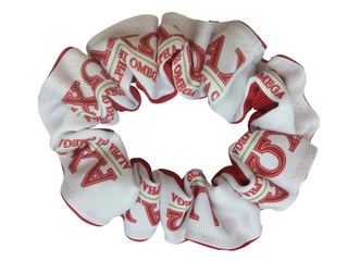 Alpha Chi Omega Pony Scrunchie