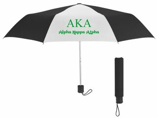 Alpha Kappa Alpha Budget Telescopic Umbrella