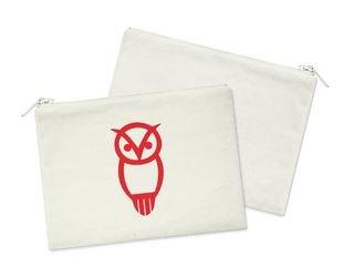 Chi Omega Owl Cosmetic Bag