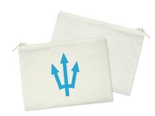 Delta Delta Delta Mascot Cosmetic Bag