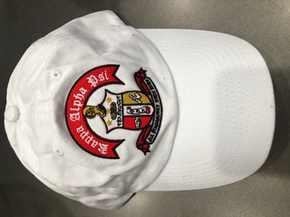 New Super Savings - Kappa Alpha Psi Crest Hat - WHITE