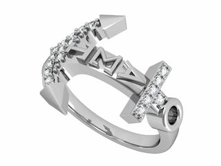 Alpha Sigma Tau Anchor Ring