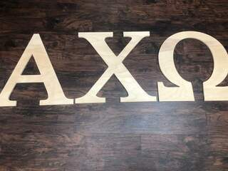 Super Savings - Alpha Chi Omega Wooden Letters - WOOD