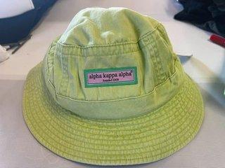 The New Super Savings - Alpha Kappa Alpha Bucket Hat - GREEN 1 of 11