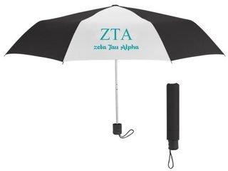 Zeta Tau Alpha Budget Telescopic Umbrella