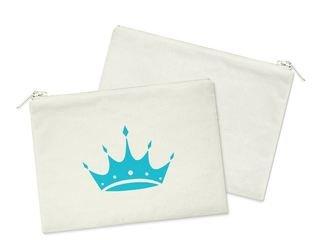 Zeta Tau Alpha Crown Cosmetic Bag