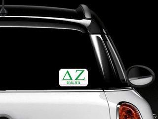 Delta Zeta Custom Sticker - Personalized