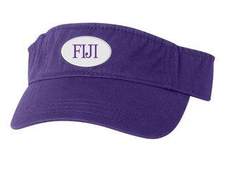 FIJI Fraternity Oval Heavy Visor
