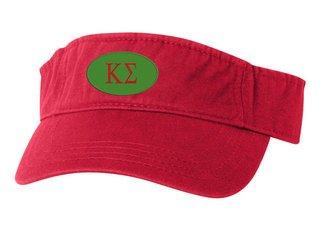 Kappa Sigma Greek Oval Heavy Visor