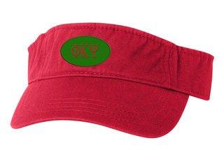 Phi Kappa Psi Greek Oval Heavy Visor