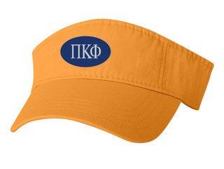 Pi Kappa Phi Greek Oval Heavy Visor