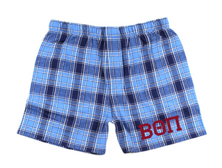 Beta Theta Pi Flannel Boxer Shorts
