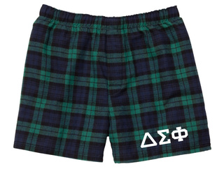 Delta Sigma Phi Flannel Boxer Shorts