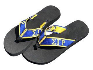 e600ac5e476a Sigma Gamma Rho Flip Flops   Slippers - Greek Clothing - Greek Gear