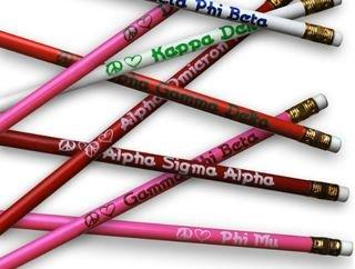 Sorority Pencils Pack of 25