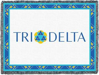Delta Delta Delta Throw