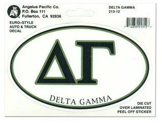 Delta Gamma Euro Style Sticker