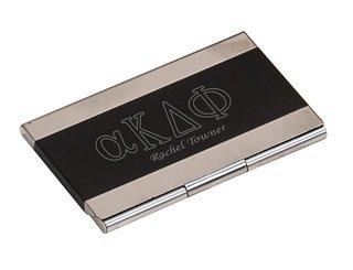 alpha Kappa Delta Phi Business Card Holder