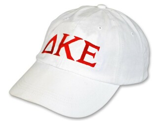 Delta Kappa Epsilon Letter Hat