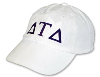 Delta Tau Delta Letter Hat