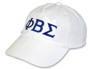 Phi Beta Sigma Letter Hat