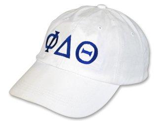Phi Delta Theta Letter Hat