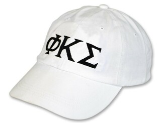 Phi Kappa Sigma Letter Hat