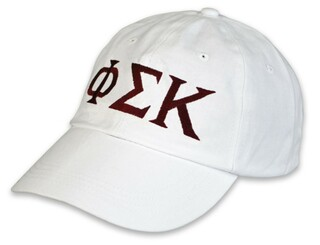 Phi Sigma Kappa Letter Hat