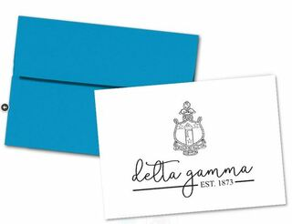 Delta Gamma Established Notecards(6)