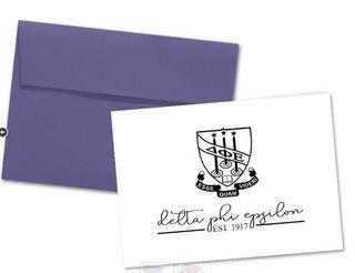 Delta Phi Epsilon Established Notecards(6)