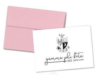 Gamma Phi Beta Established Notecards(6)