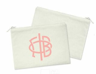 Gamma Phi Beta Mascot Cosmetic Bag