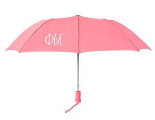Phi Mu Lettered Umbrella