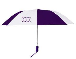 Sigma Sigma Sigma Lettered Umbrella